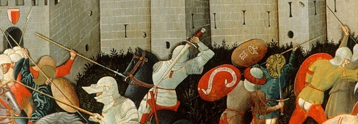 """""""Fornarina's battle"""" - San Ginesio, Le Marche, Italy"""