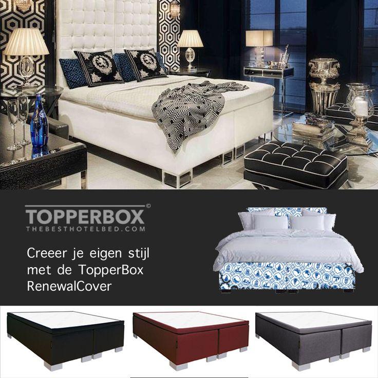 Met de TopperBox RenewalCover heb je in een handomdraai een compleet ander bed