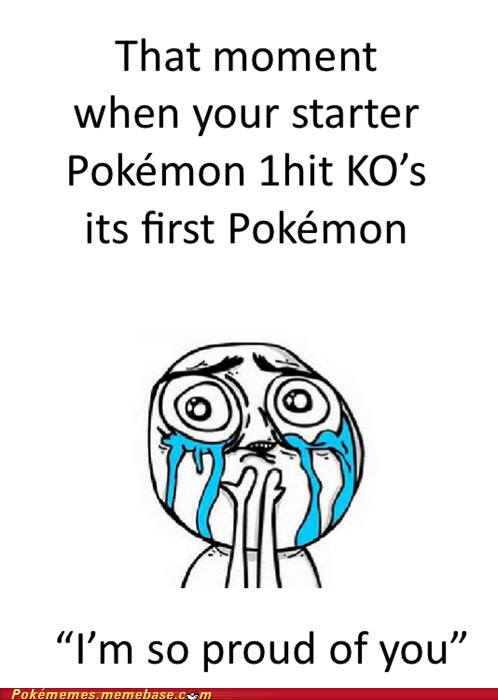 omg that's so true, I would actually talk to my pokemon like they could hear me