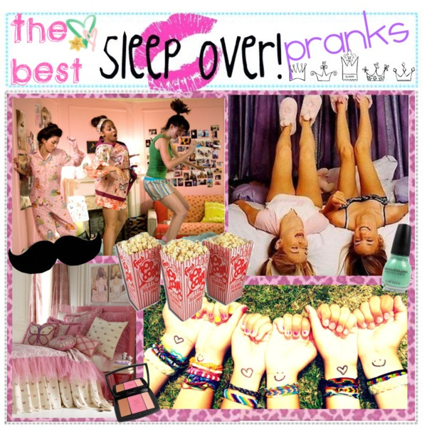"""The Best Sleepover Pranks!""....for when my 5 year old wants to play pretend pranks on her monster high girls..."