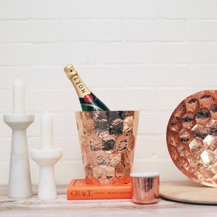 Champagne Bucket by TD.