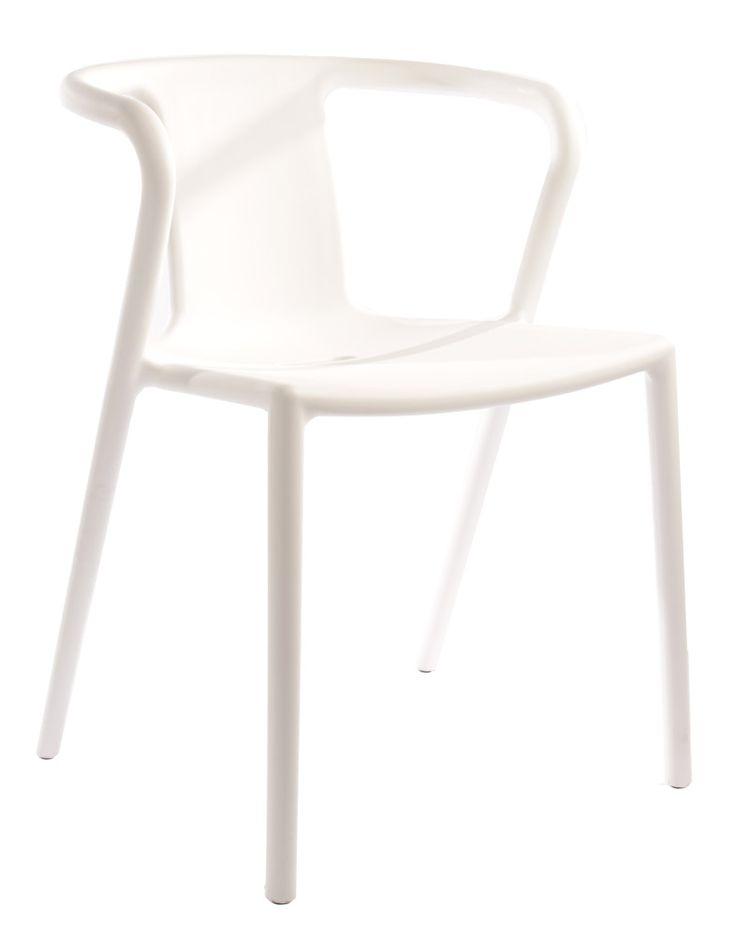 Replica Jasper Morrison air chair in white