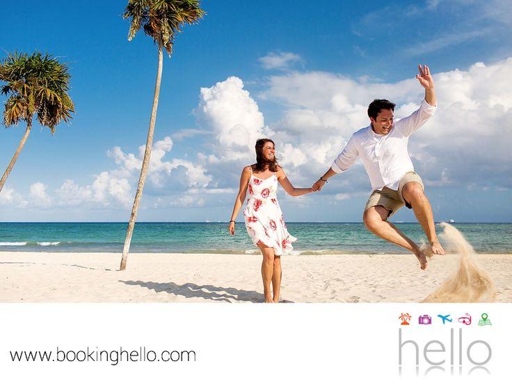 VIAJES DE LUNA DE MIEL. A lo largo de la costa de República Dominicana se encuentran algunas de las mejores playas del Caribe, para que vivas una luna de miel inolvidable. En Booking Hello logramos que tú y tu pareja, hagan de este viaje la mejor experiencia con Fall In Love Pack, pues tendrán una cesta de frutas esperándoles en su habitación y una romántica cena a la orilla del mar, además de los mejores días en las playas de este destino. Visita www.bookinghello.com y adquiere tu pack, hoy…