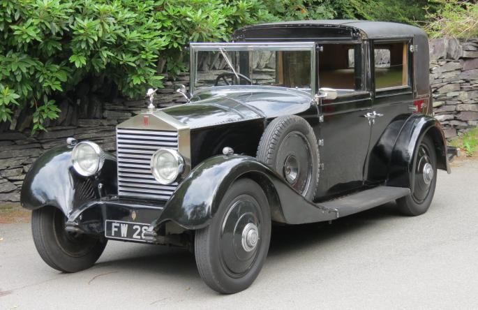 1928 Sedanca de Ville by Thrupp & Maberly (chassis GBM42)