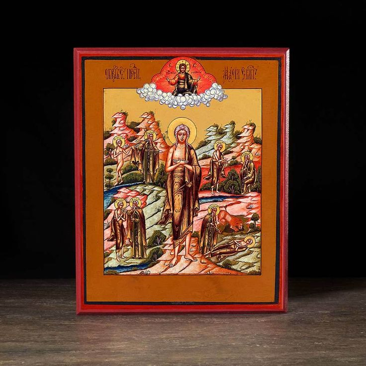 Saint Mary of Egypt (Old Believer) Icon - S175 - Legacy Icons