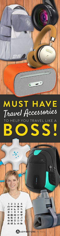 Travel Accessories | Here are our top picks for MUST have travel accessories to help you travel like a boss.