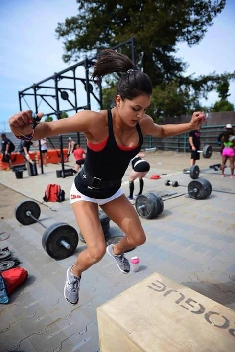 One of my crossfit trainers - jackie perez