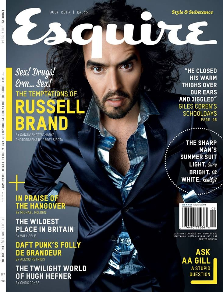 #HotOffThePress #FindYourMag.com has #Esquire #Magazine #Mens #fashion. This #month #features #RusselBrand #hughHefner. #order yours #online FindYourMag.com, We #deliver #worldwide or #collect from our #store #MelcombeNews #Marylebone #London #NW1 6JE we are #Opposite #MaryleboneStation. #Follow #twitter @Michele Aschenbrenner YourMag and #like #Facebook #FindYourMag