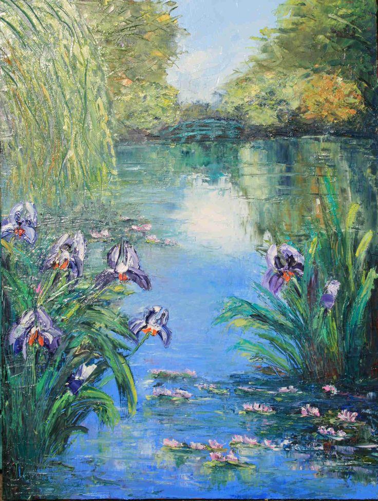 Claude Monet - Irises