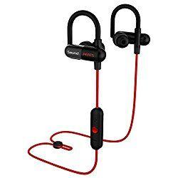 Bluetooth イヤホン SoundPEATS【メーカー直販/1年保証付】 黒赤2色 apt-Xコーデック採用 イヤホン 高音質 防水 防滴 ランニング中でも耳から外れにくい スポーツ仕様 ワイヤレスイヤホン ハンズフリー通話 CVC6.0 ノイズキャンセリング搭載 音量調整 曲送り戻し可能 Q11 (レッド) おすすめ度*1 このイヤホンは以前レビューしたQCY QY11のOEM品のようだ。機器を認識させると型番はQY11と表示される。この製品はaptX対応のワイヤレスイヤホンで5000円以下の価格帯ではおすすめできるイヤホンだ。 イヤーフックつきのハウジングは耳への装着感が良く、しっか…