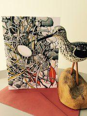 Hand Illustrated Card - 'Bird Nest'