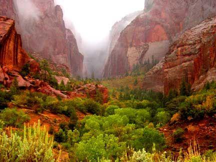 ~ Kolob Canyon ~ Zion National Park, Utah....