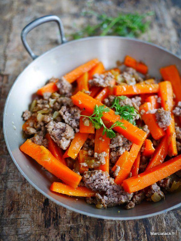 Une recette facile de carottes cuite à faire pour changer des carottes râpées en salade