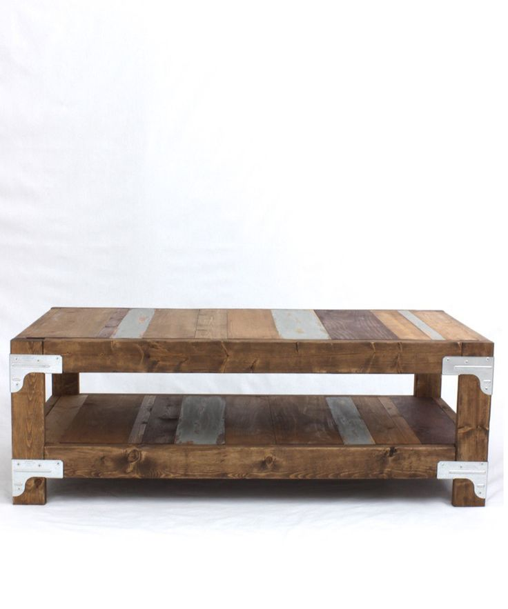 Industrial Diy Coffee Table Home Projects Diy Pinterest Diy Coffee Table Industrial And