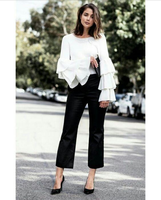 10 outfits elegantes y modernos para ir a la oficina  7988ec09216a