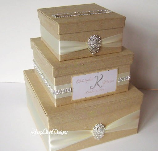 Unique Wedding Gift Card Holders : Unique Wedding Gift Card Holders Card Box, Bling Card Box ...