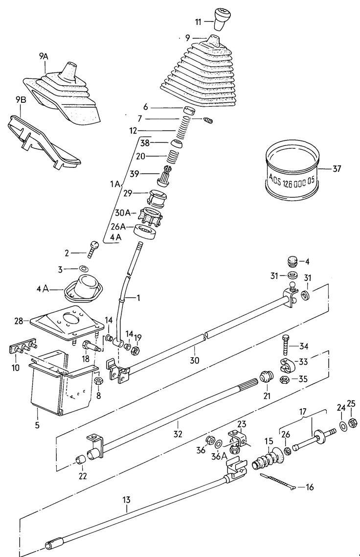 Shift mechanism for manual transmission