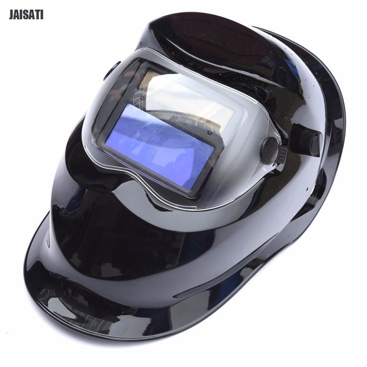 Electric welding sunshine control panel light control welding mask solar protective helmet