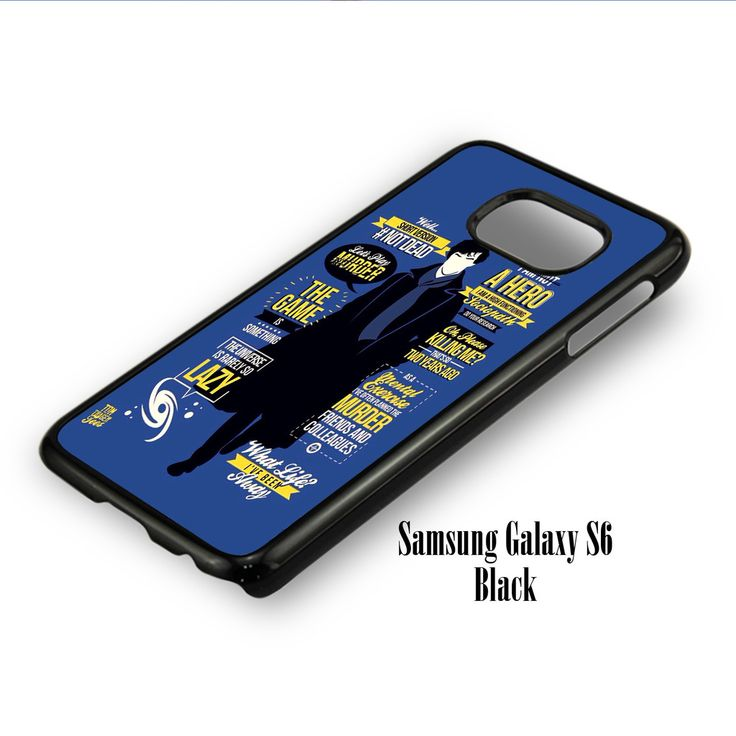 Sherlock Holmes Quote for Samsung Galaxy S6, Samsung Galaxy S6 Edge Case