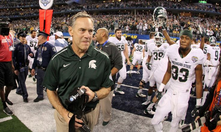 """ESPN Adding Fuel to Mark Dantonio's Fire - Today's U Michigan State coach Mark Dantonio was part of a """"Car Wash"""" on ESPN recently, though many viewers still felt quite grimy after watching the sports network giant's numerous interviews with the coach on different programs....."""