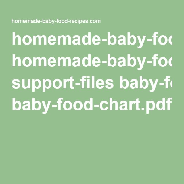Homemade baby food recipes support files baby food chartpdf homemade baby food recipes support files baby food chartpdf ben pinterest baby food recipes homemade baby foods and homemade baby forumfinder Image collections