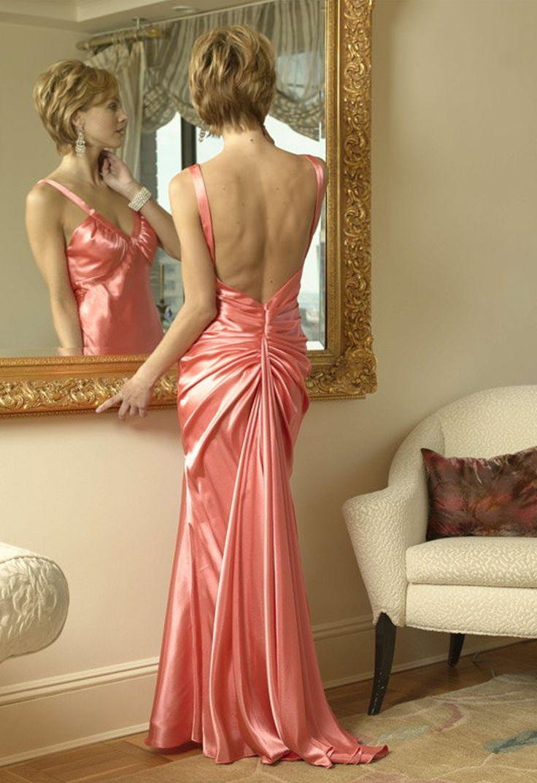 501 best Satin Party Dress images on Pinterest   Satinkleider ...
