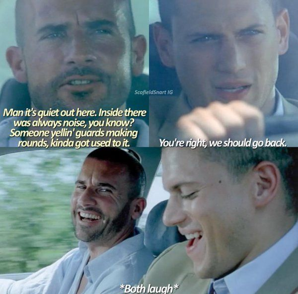 Linc and Michael - Prison Break Season 2