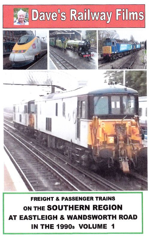Southern Freight and Passenger trains 1990's Vol 1