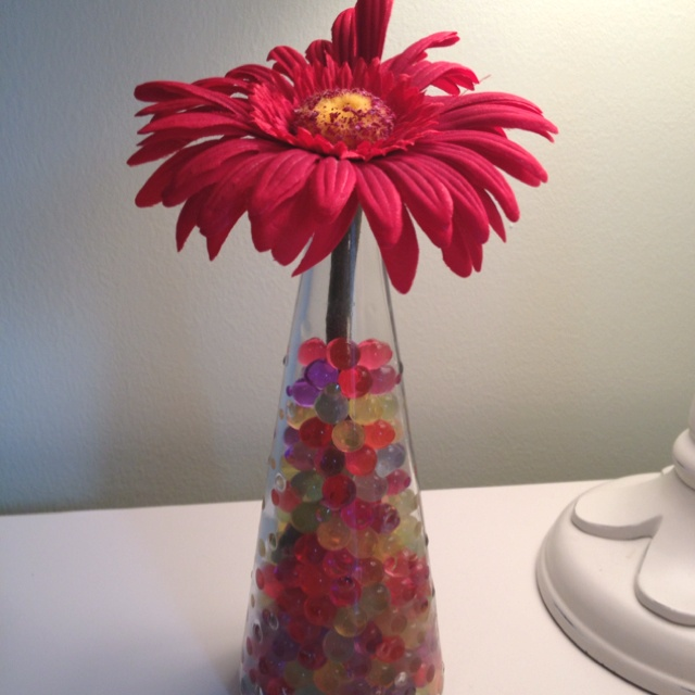 Avas idea to use orbeez in a vasecute  For the Home  DIY Projects Fun crafts Crafts