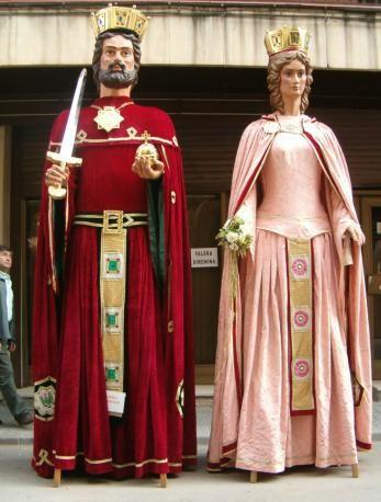 Gegants de Girona, Carlemany i Anna Gironella