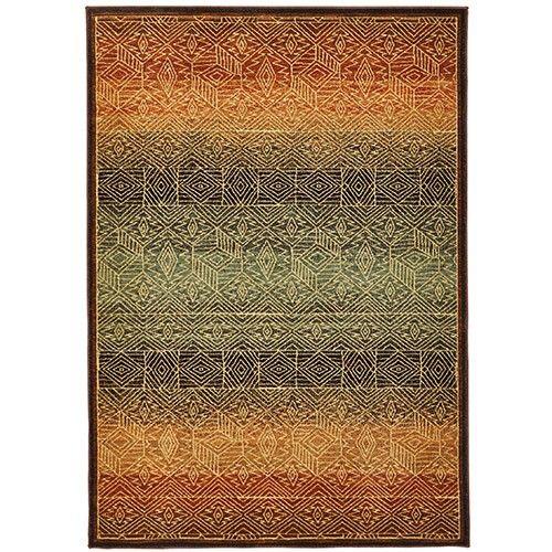 Splendid Mood Designer Rug - Pattern - 330 x 240cm - Brown 7% OFF | $699.00 - Milan Direct