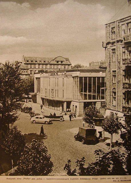The Praha Cinema, Warsaw, Poland