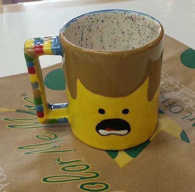 25 best ideas about paint your own pottery on pinterest - Ceramic mug painting ideas ...