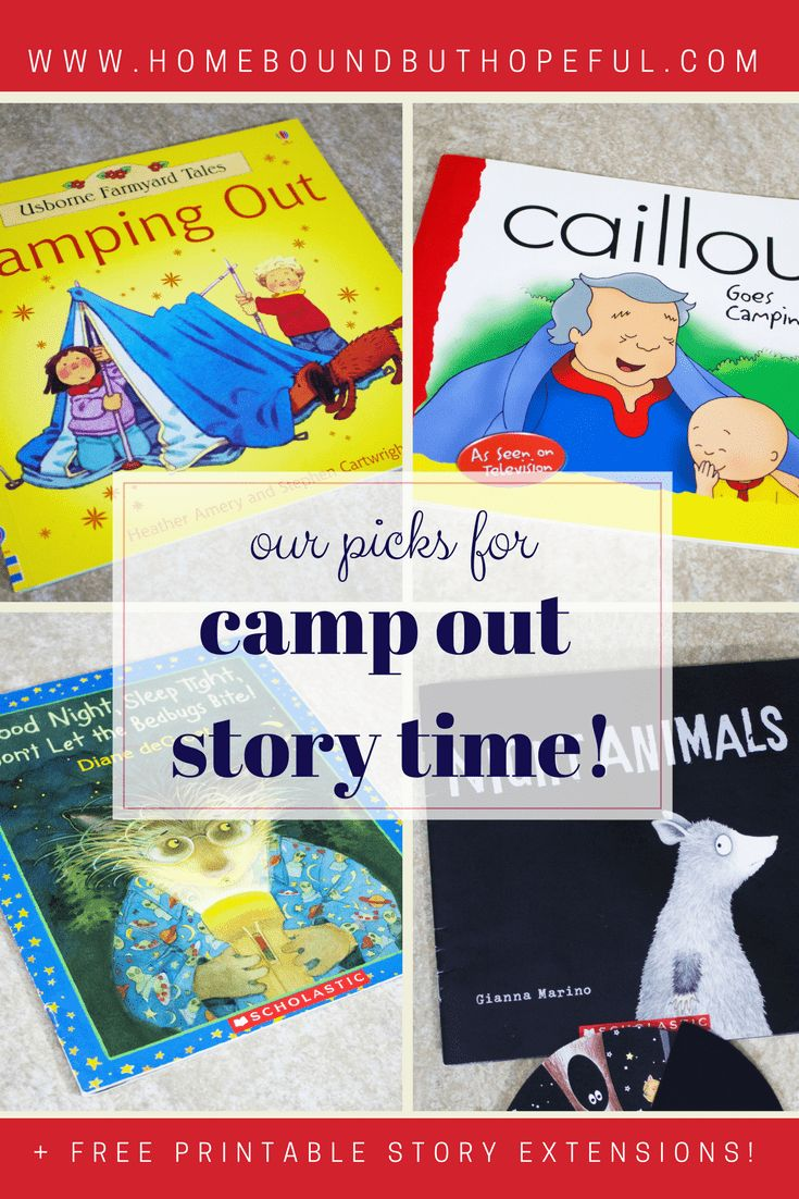 Camping Storytime With A Night Animals Inspired Craft