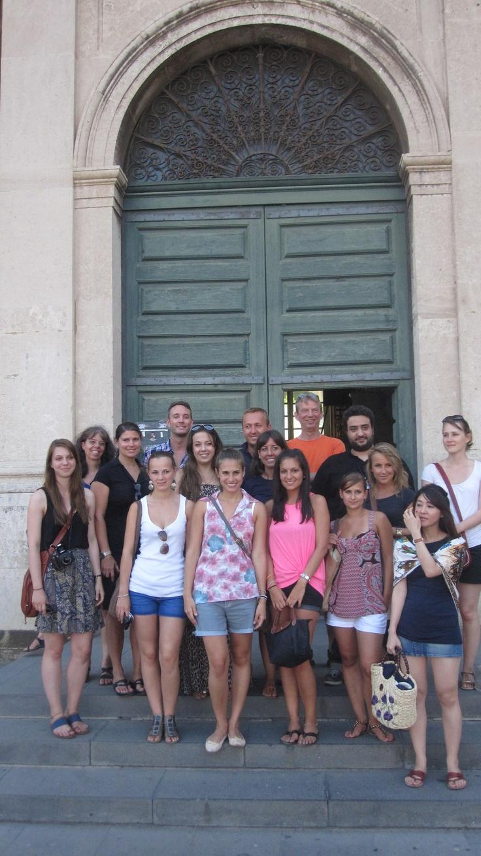 Visita all'ex Monastero dei Benedettini, Catania.  19 luglio 2012