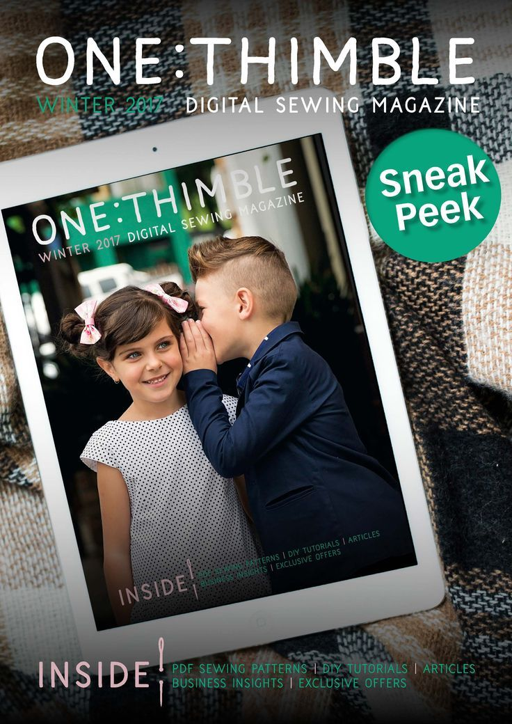 Take a look inside One Thimble Digital Sewing Magazine Issue 15!!!