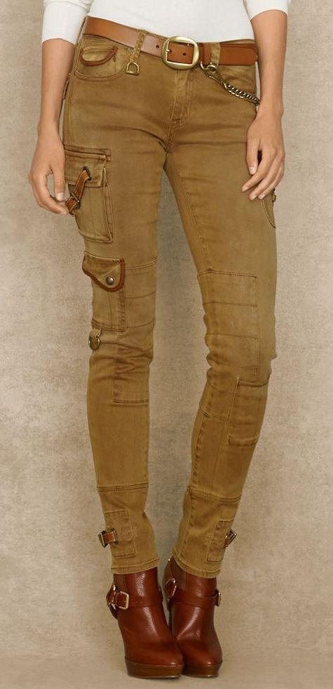 Skinny Cargo Pant - Ralph Lauren