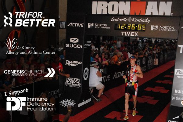 Primary Immunodeficiency Finishes Ironman Louisville TriForBetter  http://triforbetter.com/athlete-primary-immunodeficiency-finishes-ironman-louisville/