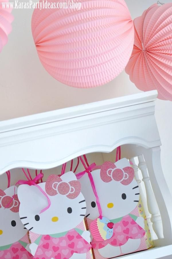 Hello Kitty Birthday Party-The Party Bags