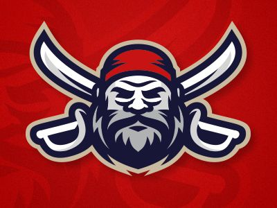 Another pirate in the collection of sports logos :-)