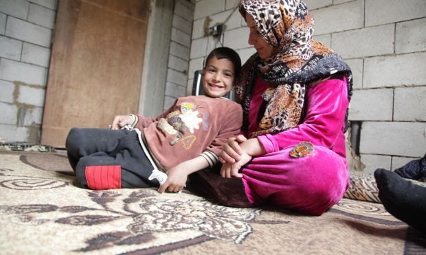 Eight months pregnant and homeless   World Vision International Syrian Refugees