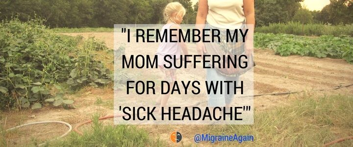 Jennifer tenaciously juggles severe Migraine attacks, a demanding career, and a search for better Migraine management. Her story: https://migraineagain.com/i-remember-my-mom-sick-headache/?utm_campaign=coschedule&utm_source=pinterest&utm_medium=Migraine%20Again&utm_content=%22I%20Remember%20My%20Mom%20Suffering%20for%20Days%20with%20%27Sick%20Headache%27%22