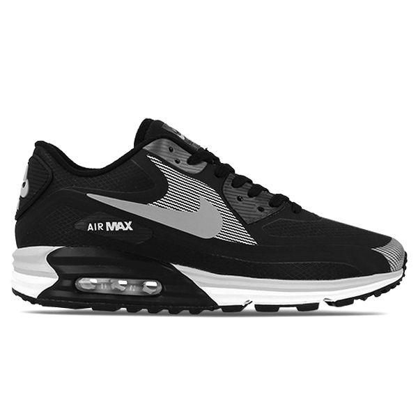 #Nike Air Max Lunar 90 WR Black/Silver White/Hyper Punch #sneakers