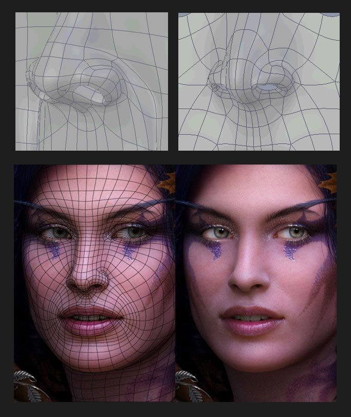 Mesh topology - 3DTotal Forums
