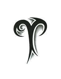 Like this Aries tattoo.