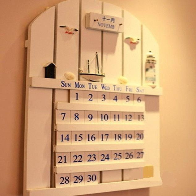 8 best wooden calendar images on Pinterest | Wooden calendar ...