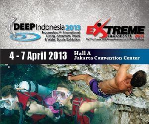 DEEP and EXTREME Indonesia, dikenal sebagai salah satu gelaran terpenting bagi industri yang terkait dengan diving dan eco-tourism. Datang ke booth Valadoo di sana untuk mendapat penawaran dan acara seru! (DEEP and EXTREME Indonesia is now recognized as one of important events in the region and highly recommended by the diving and related industries involved in the marine and eco tourism businesses. There interesting offers and packages offered on the booth. Don't miss it!)