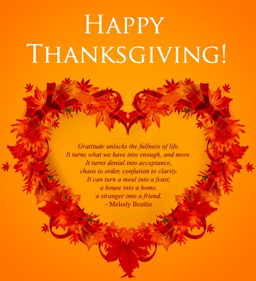 I Am Grateful For You Quotes Happy Thanksgiving! | ...