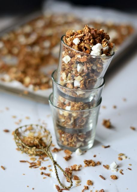 Restricted to… /-/ Tropical Kitchen sink Granola |