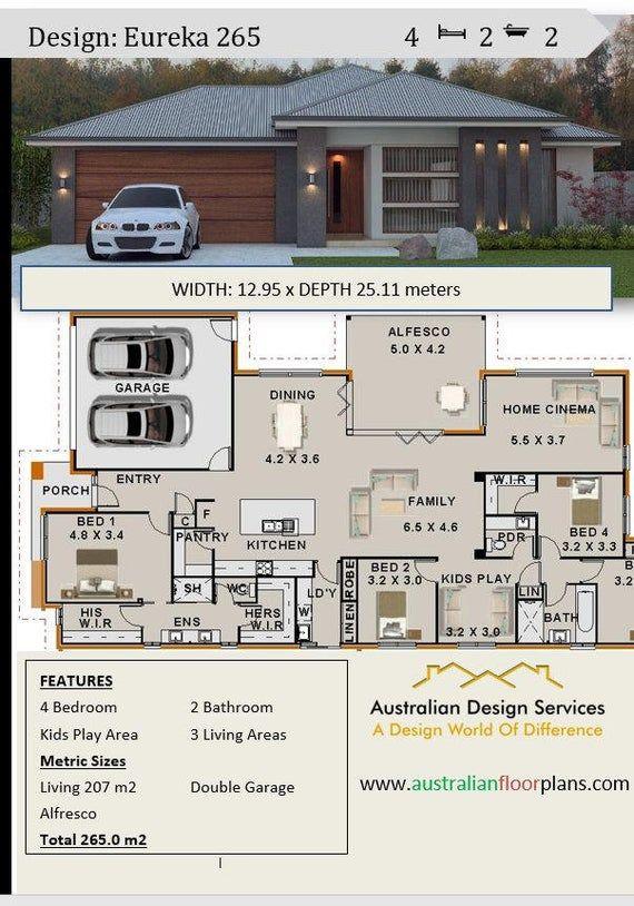 Plan 267 5 M2 Or 2873 Sq Feet